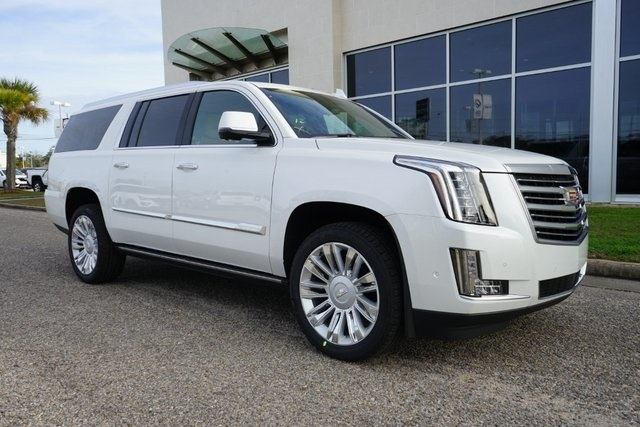 New 2020 Cadillac Escalade ESV Platinum Edition 4D Sport ...